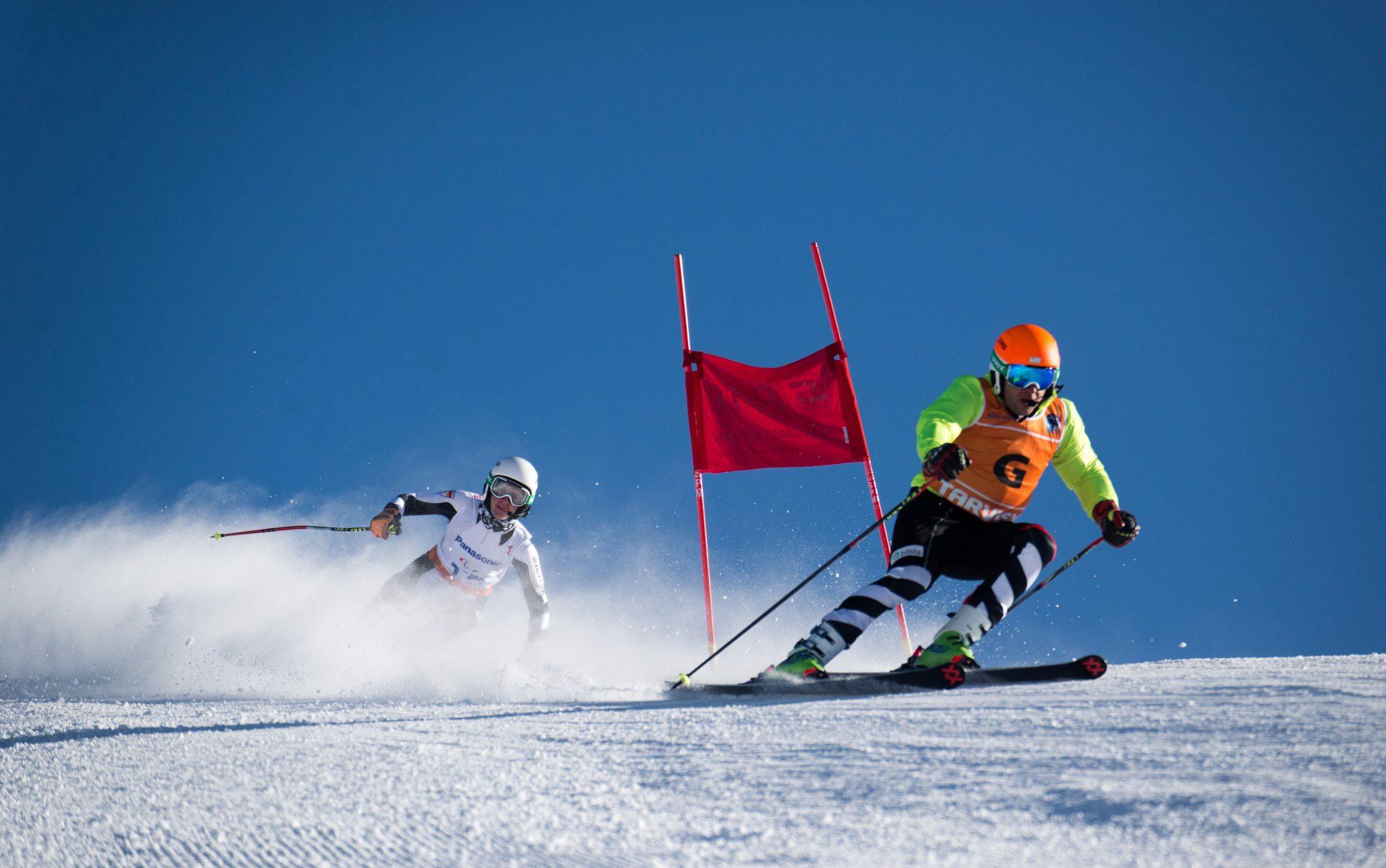 Blind Skifahren